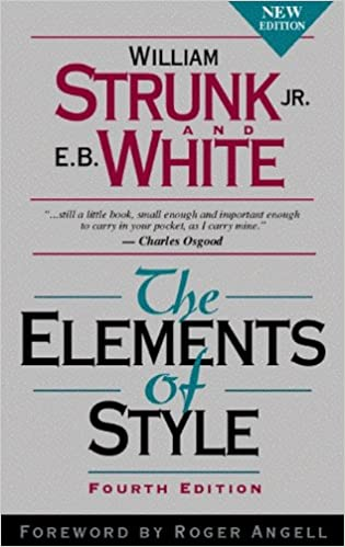 Image result for The Elements of style