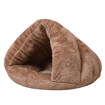 Cupcinu Cama de Gato Perrera Colchón Perro Saco de Dormir para Perros Nido de Perrera Funcional