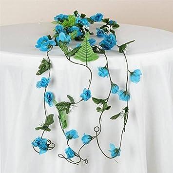 Amazon 6 Ft Artificial Rose Silk Flower Chain Garland Wedding