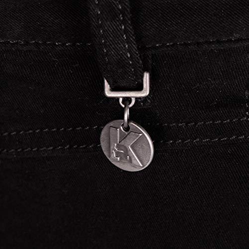Biker Pantaloni Karl It31 36kw1804 Lagerfeld 999 27 f7vqgSw