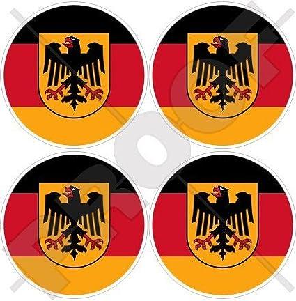 Deutschland Germany Sticker Self Adhesive Vinyl eagle crest german 2x