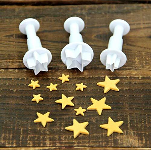 20pcs Fondant Plunger Cutters Cake Decorating Tools Sugarcraft DIY Mold