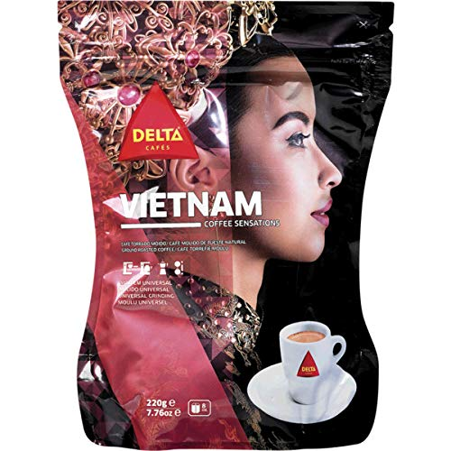 Delta Ground Roasted Coffee from Vietnam for Espresso Machines: Amazon.es: Alimentación y bebidas