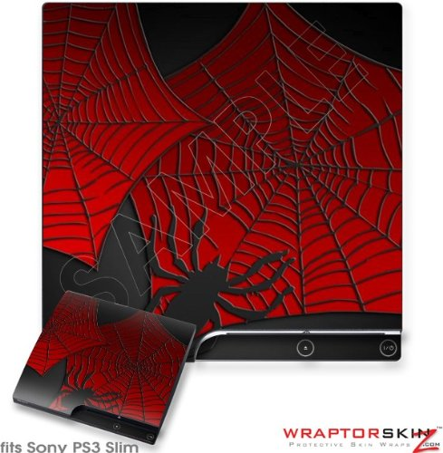 Sony PS3 Slim Skin - Spider Web