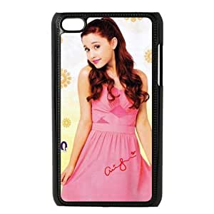 Customize American Famous Singer Ariana Grande Back For SamSung Galaxy S4 Case Cover JNIPOD4-1445
