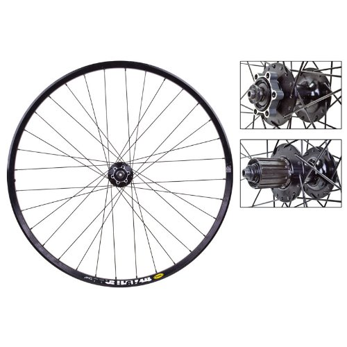 Wheel Master - Mavic TN719 29'er Disc Wheel Set - Shimano Dti M529 Hub, 32H, Black
