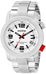 """red line Men's RL-50043-22S """"Octane"""" Stainless Steel Watch"""