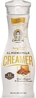 product image for Califia Farms Pecan Caramel Almondmilk Coffee Creamer with Coconut Cream, 25.4 Oz (Pack of 6) | Dairy Free | Plant Based | Nut Milk | Vegan | Non-GMO
