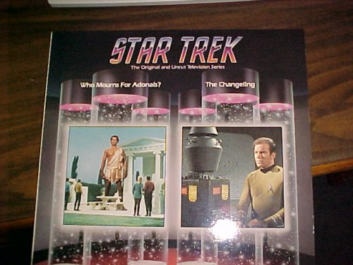 Laserdisc of Star Trek The Original Series 2 Uncut Episodes, Who Mourns For Adonais & The Changeling. Episode 33 & 37. Gene Roddenberry, William Shatner & Leonard Nimoy. (Star Trek The Original Series The Changeling)