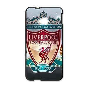 Loverpool Football Club Black htc m7 case