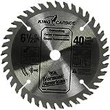 Vermont American 27247 6-1/2-Inch 40T Smooth Cut Carbide Circular Saw Blade