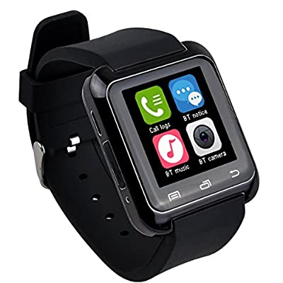 EasySMX Bluetooth Smart Watch U80 Wrist Watch Sport for iPhone 4/4S/5/5S Samsung S4/Note 2/Note 3 HTC Android Phone