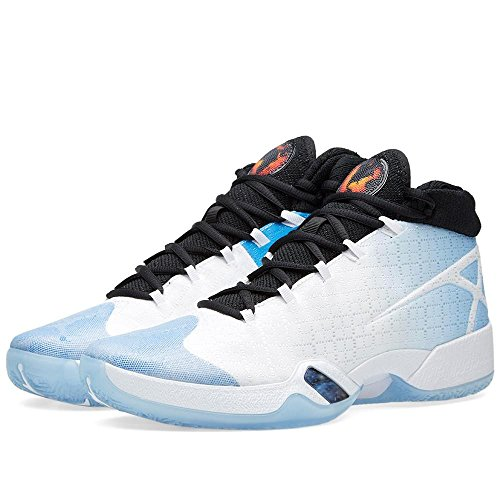 Nike Herre Air Jordan Xxx Basketball Sko Hvid / Sort / Blå (hvid / Sort Og Universitet Blå) H8P6jkmBS