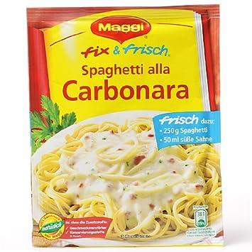 Amazon.com : MAGGI fix & fresh Spaghetti alla Carbonara (Pack of 4 ... | {Maggi fix 88}