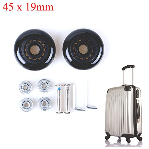 H&B Luggage Suitcase Replacement Wheels Axles Wrench Delu...