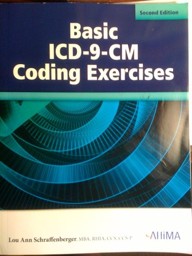 Basic ICD-9-CM Coding Exercises, Second Edition