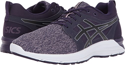 ASICS Womens Torrance Running Shoe, Mysterioso/Black/Aluminum, 11 Medium US