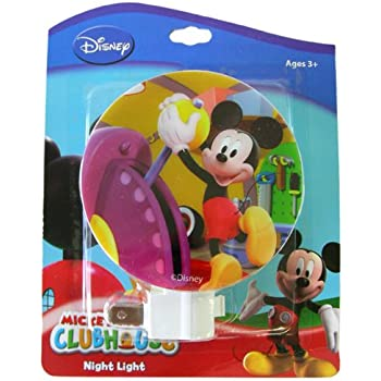Disney Mickey Mouse Plug In Night Light Designs May Vary