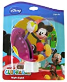 Disney Mickey Mouse Plug-In Night Light (Designs may vary)