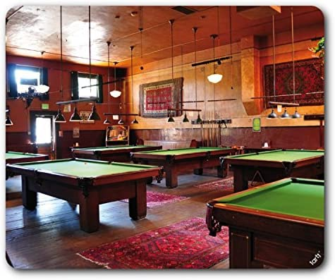 1art1 Billar - Pool Saloon Alfombrilla para Ratón (23 x 19cm ...