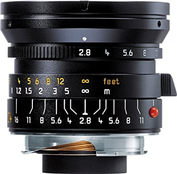 Leica 24mm f/2 8 Elmarit-M Aspherical Wide Angle Manual Focus Lens (11878)