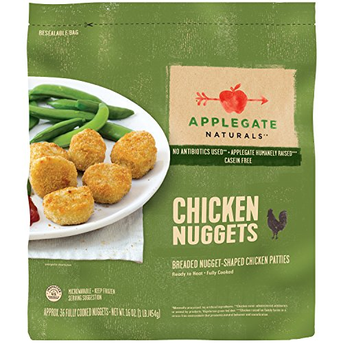 Applegate Naturals Chicken Nuggets, 16 Ounce (Pack of 6) by Applegate