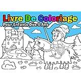Coloriage Pour Garcon 8 Ans.Livre De Coloriage Pour Enfants Des 8 Ans Pour Garcon Amazon Fr