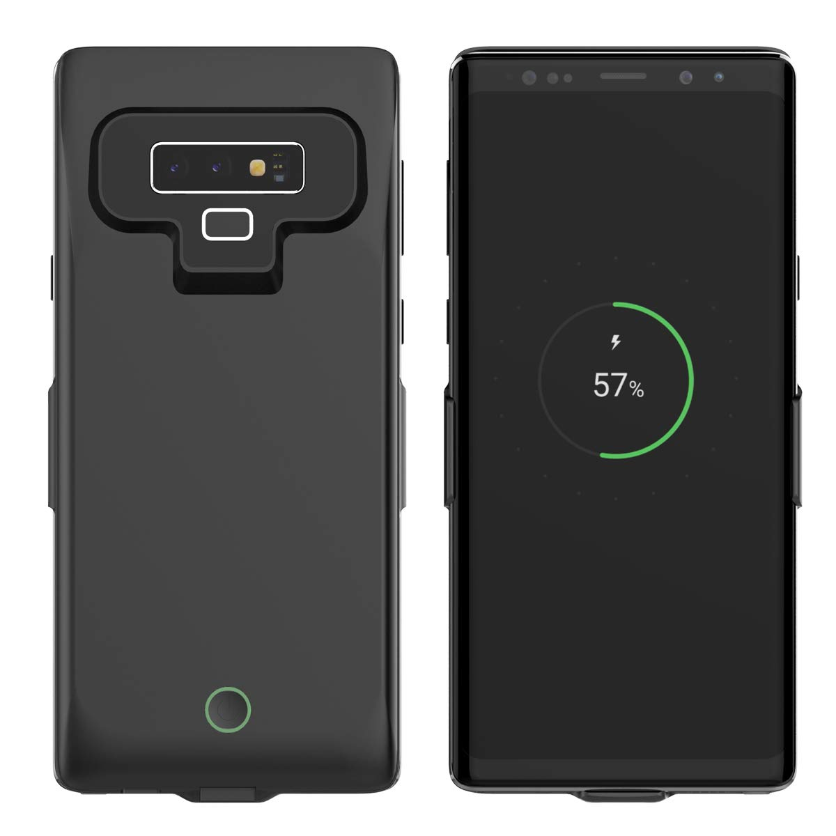 Codream Samsung Galaxy Note 9 Battery Battery Case, Grip External Protective Battery ccover Compatible with Samsung Galaxy Note 9 Battery Juice Case [Grip ] - Black