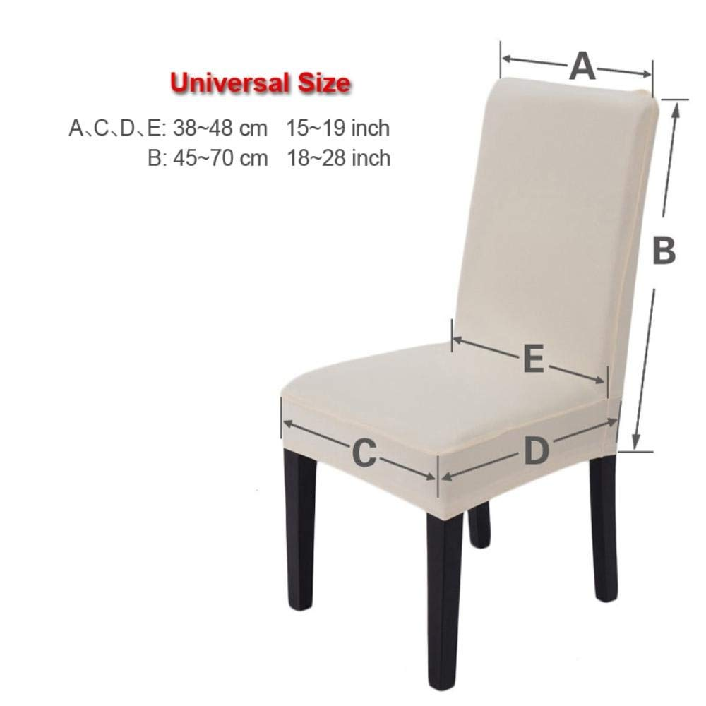 Amazon.com: Hakazhi Inc Printing Flowers Universal Size Chair Cover ...