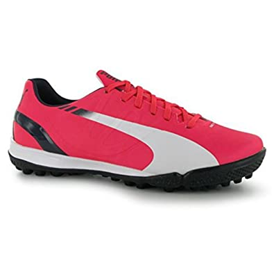 Puma Kids evoSpeed 4.3 Junior Astro Turf Trainers Boys Football Boots Shoes  Bright Plasma UK 3 (35.5)  Amazon.co.uk  Shoes   Bags 26a9c005b