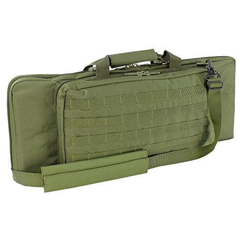 Condor Rifle Case (Olive Drab, 28 x 12 x 3-Inch) (Best Attachments For Pdw)