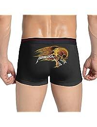 Selection Of Fine Fabrics Young Men Metallica Band Full-Cut Briefs Underwear