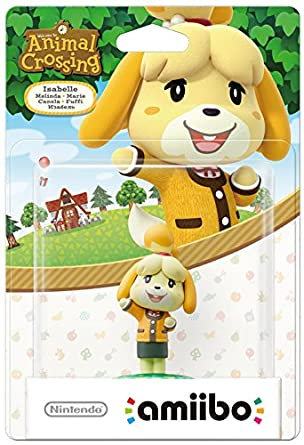Isabelle Amiibo Animal Crossing For Nintendo Wii U 3ds