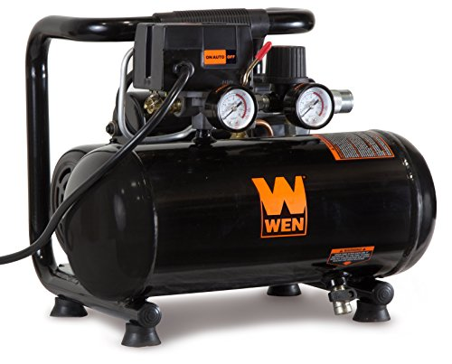 Cheap WEN 2281 1-Gallon Oil-Free Horizontal Portable Air Compressor