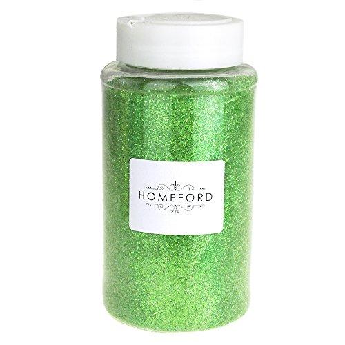 Homeford Fine Glitter Bottle, 1-Pound Bulk (Apple Green)