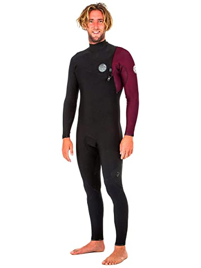 Rip Curl 2018 E Bomb Pro 5 3mm Zip Free Wetsuit MAROON WSM8PE Mens Wetsuits 00296577a