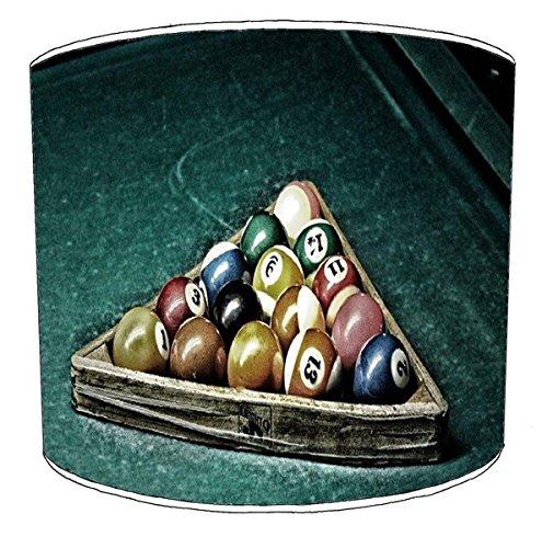 Lámpara de mesa de billar henselite, piscina, billar, bola 8 ...