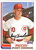 2017 Topps Archives Baseball #191 Sparky Anderson Reds