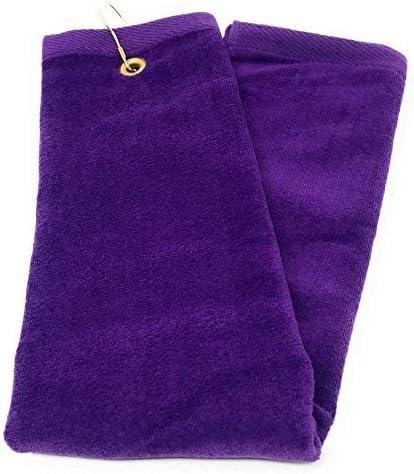 Terry Town Tri-Fold Golf Hand Towel