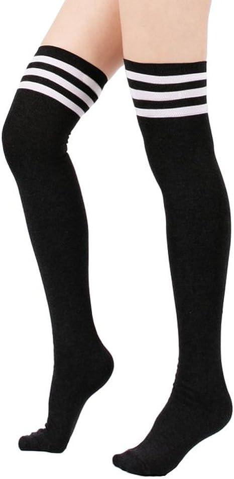 High Elasticity Girl Cotton Knee High Socks Uniform Lovely Rabbit Women Tube Socks