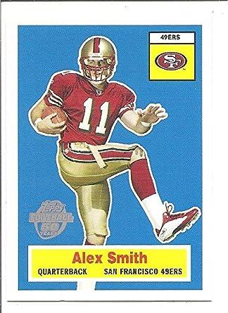 timeless design f61a1 b264a Alex Smith Kansas City Chiefs / Utah Utes 2005 Topps Retro ...