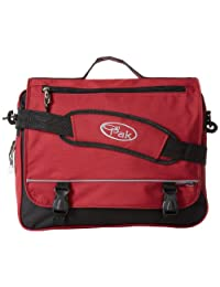 CalPak Negotiator 16-inch Expandable Soft Messenger Briefcase, Deep Red, One Size