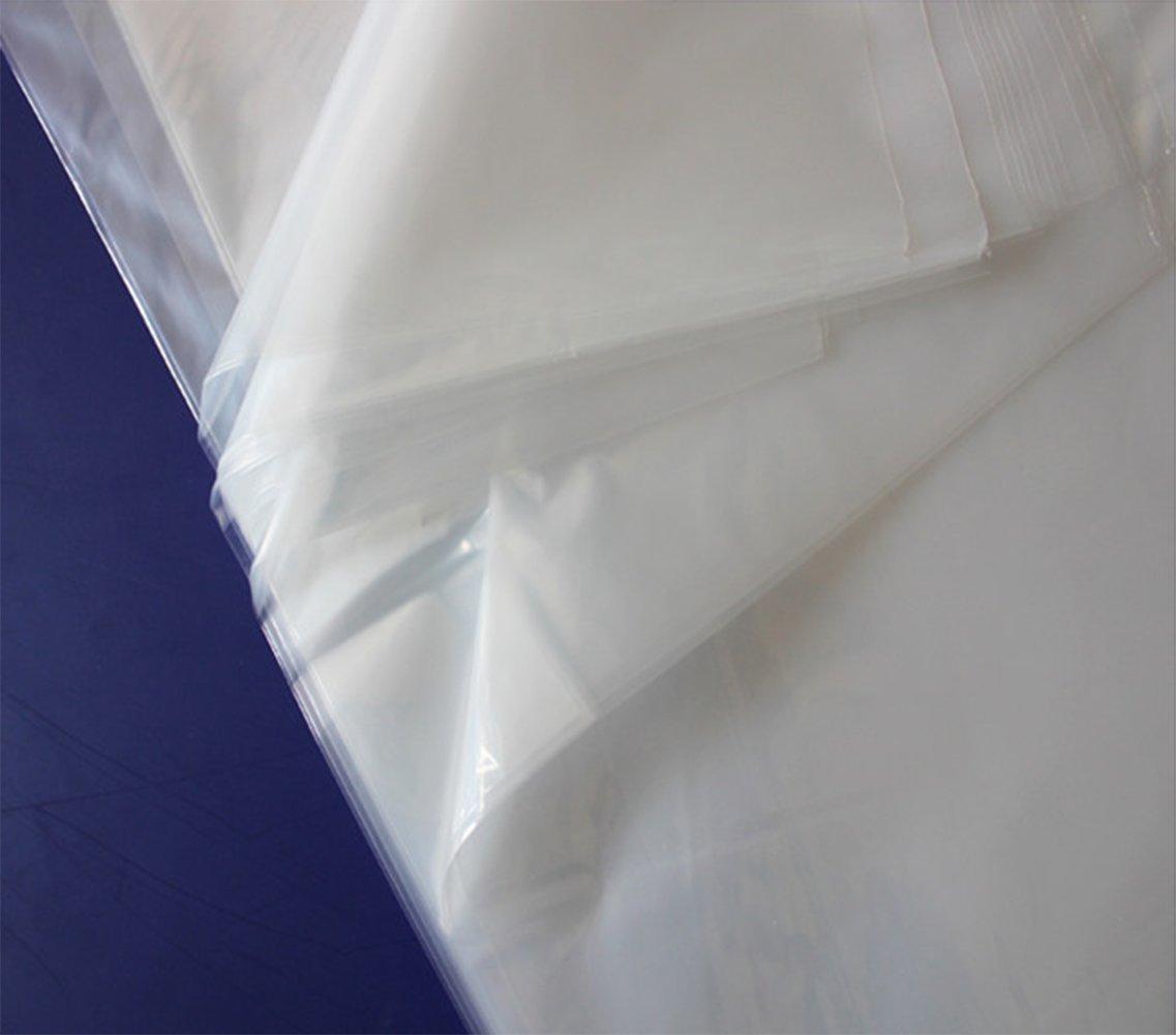 40pcs Dust Cover Garment Storage Organizer Bag Wardrobe Hanging Clothes (40pcs) by Risesun (Image #5)