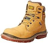 Caterpillar Men's Fabricate 6 Inch Waterproof Comp Toe Work Boot, Honey Reset, 13 M US
