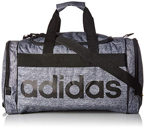 adidas Unisex Santiago Duffel Bag, Onix Jersey/Black, ONE SIZE (Adidas Women Duffle Bag)