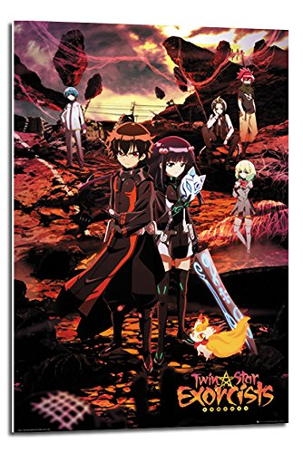 Twin Star Exorcists Manga Poster Float Mounted - 90 x 60cms
