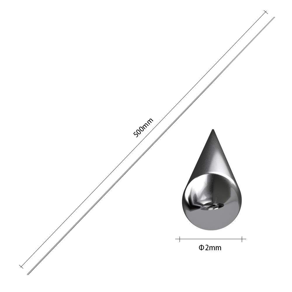 Niedertemperatur-Aluminiumschwei/ßdraht Kein Bedarfsl/ötpulver Aluminiumreparaturstangen 20, 2.0mm