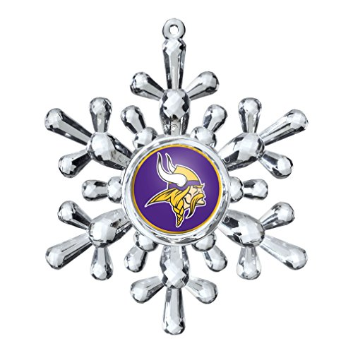NFL Minnesota Vikings Snowflake Ornament