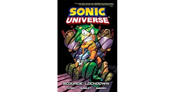 Amazon.com: Sonic Universe 8: Scourge: Lockdown ...