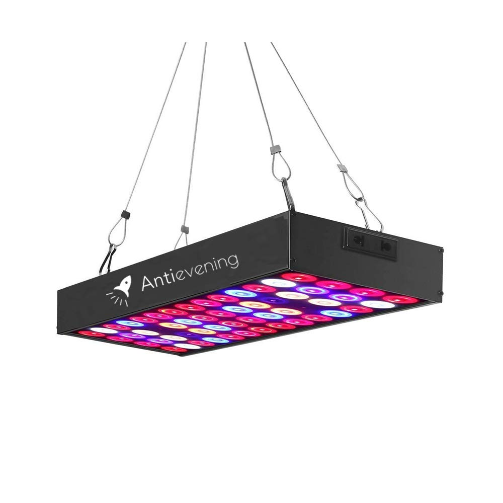 36W Full Spectrum LED Grow Light with UV & IR,No Noise Led Grow Light Bulb with Daisy Chain for Indoor Plants.Cool When Running,Energy-efficient,Works for All Stages